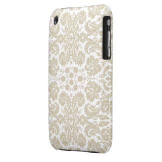 Vintage french floral art nouveau pattern iPhone 3 cases