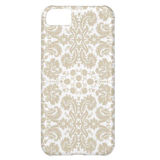 Vintage french floral art nouveau pattern case for iPhone 5C