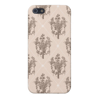 Vintage French Floral Pattern iPhone 5 Cover