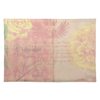 Vintage French Floral Placemat