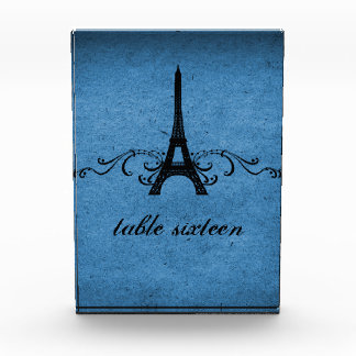 Vintage French Flourish Sweet 16 Table Number