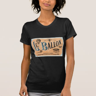 Vintage French Hot Air Balloon Advertisement T-Shirt