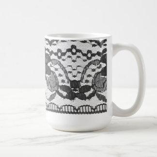 Vintage French Lace Mug