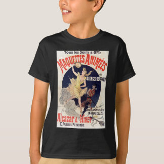 Vintage French Maquettes Animees Alcazar d'Hiver T-Shirt