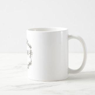 """Vintage French """"Paris"""" Medallion Coffee Mug"""