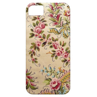 Vintage French Pochoir Rose iPhone Case iPhone 5 Cases