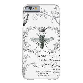 Vintage French Queen Bee iPhone 6 case Barely There iPhone 6 Case
