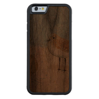 Vintage French Sand Piper Walnut iPhone 6 Bumper Case