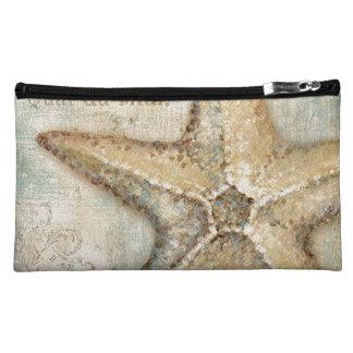 Vintage French Starfish Art Cosmetics Bags