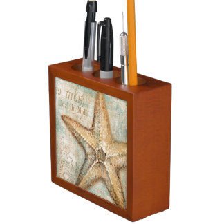Vintage French Starfish Art Desk Organizers