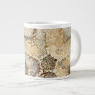Vintage French Starfish Art Large Coffee Mug