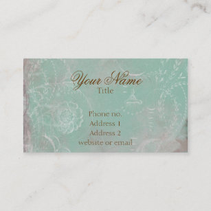 Vintage french business cards business card printing zazzle ca vintage french toile custom business cards reheart Images