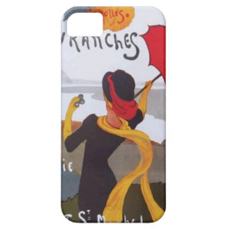 Vintage French Travel Ad 1910 Case For The iPhone 5