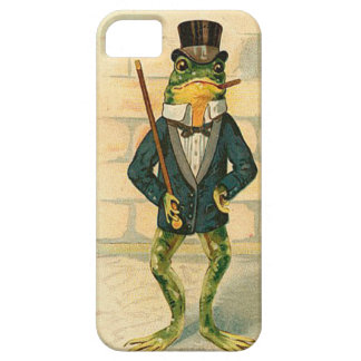 Vintage Frog Case For The iPhone 5