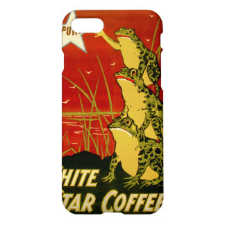 Vintage frog coffee advert case