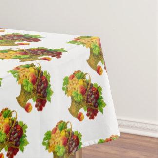 Vintage Fruit Basket pattern Tablecloth