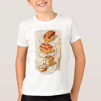 Vintage fruit cake illustration T-Shirt