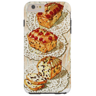 Vintage fruit cake illustration tough iPhone 6 plus case