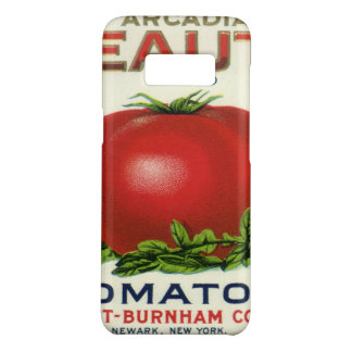 Vintage Fruit Crate Label, Arcadia Beauty Tomatoes Case-Mate Samsung Galaxy S8 Case