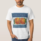 Vintage Fruit Crate Label Art, Georgia Peaches T-Shirt