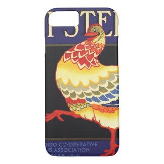 Vintage Fruit Crate Label Art, Hi Stepper Chicken iPhone 8/7 Case