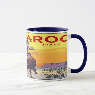 Vintage Fruit Crate Label Mug