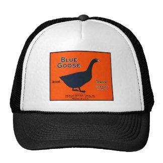 Vintage Fruit Label Mesh Hats