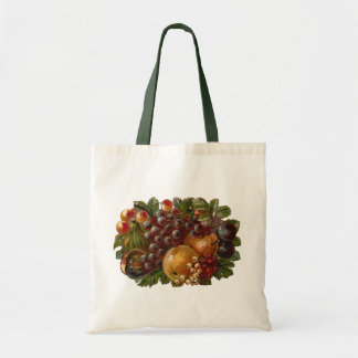 Vintage Fruits Thanksgiving Harvest Bag