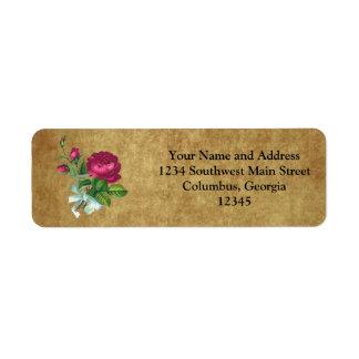 Vintage Fuchsia Rose