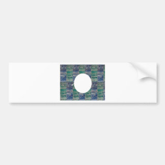 Vintage FULL Moon n Space ADD your Image Text Bumper Stickers