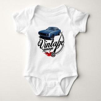 Vintage Garage Camaro Baby Bodysuit