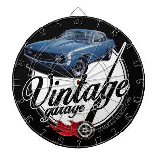 Vintage Garage Camaro Dartboard