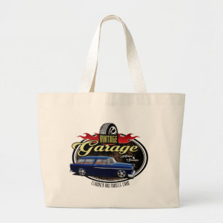 Vintage Garage Nomad Large Tote Bag