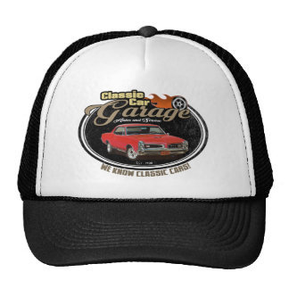 Vintage Garage with GTO Trucker Hat