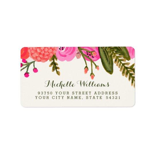 Vintage Garden Address Labels