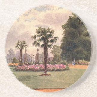 Vintage Garden Art - Martin Thomas Mower Drink Coaster