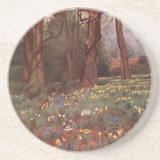 Vintage Garden Art - Martin Thomas Mower Drink Coasters