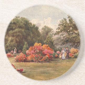 Vintage Garden Art - Martin Thomas Mower Coasters