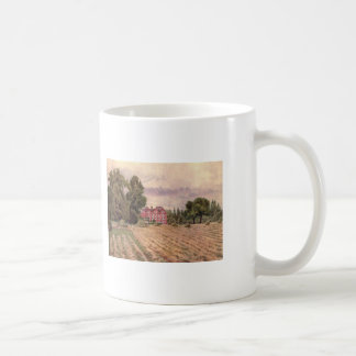 Vintage Garden Art - Martin Thomas Mower Coffee Mug