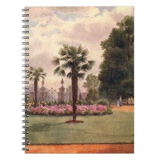 Vintage Garden Art - Martin Thomas Mower Spiral Note Book
