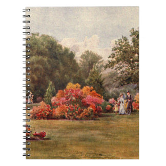 Vintage Garden Art - Martin Thomas Mower Notebook