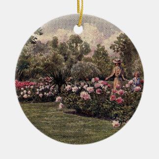 Vintage Garden Art - Martin Thomas Mower Christmas Ornaments