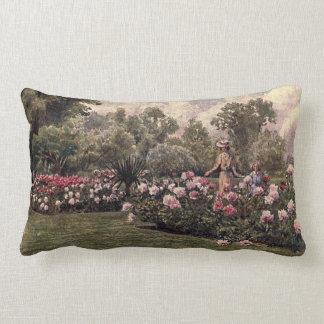 Vintage Garden Art - Martin Thomas Mower Pillows