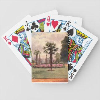 Vintage Garden Art - Martin Thomas Mower Playing Cards