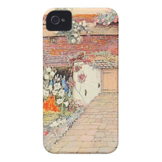 Vintage Garden Art - Proposal House Case-Mate iPhone 4 Case