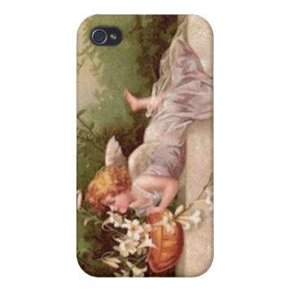 Vintage Garden Fairy iPhone 4 Cover