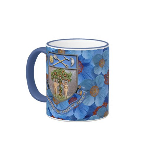 Vintage Garden of Eden Himalayan Poppy Mug