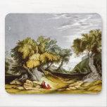 Vintage Garden of Gethsemane Illustration 1846