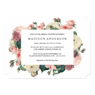 Vintage Garden | Wedding Invitation
