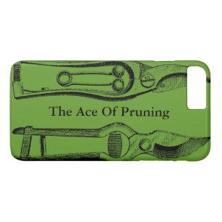 VINTAGE Gardening Tools Green Pruners Iphone Case